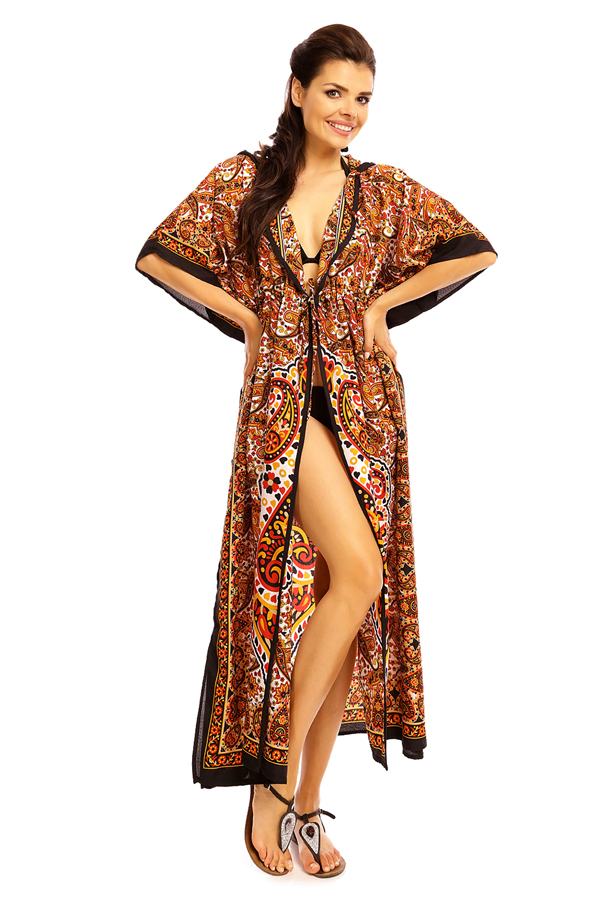 Hooded Tribal Full Length Kaftan - 12 Pack