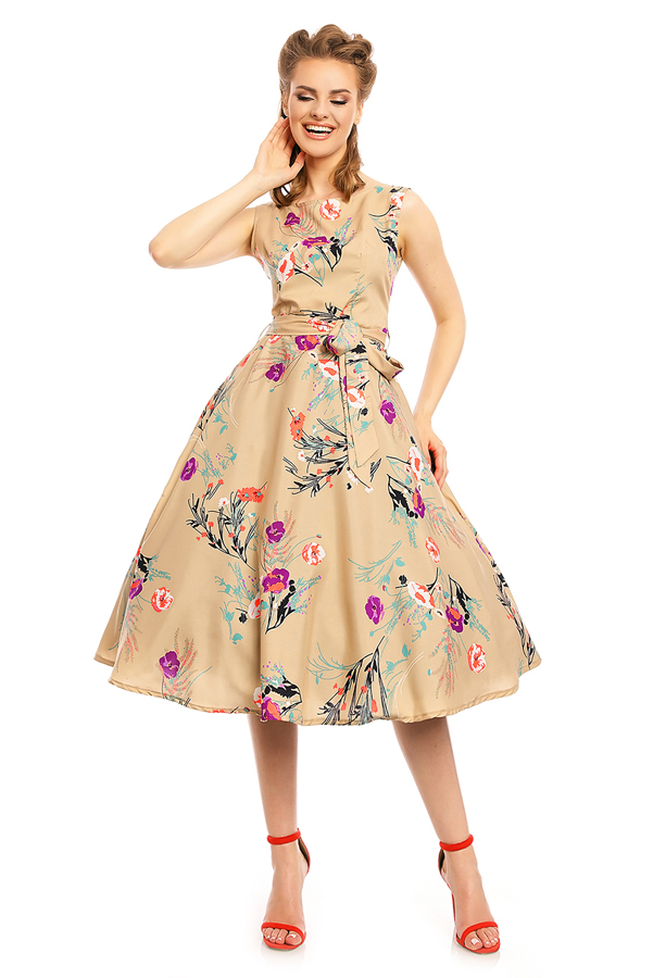 1940's Inspired Audrey Hepburn Retro Vintage Dress - Pack Of 10
