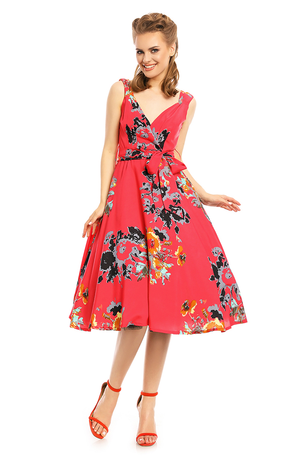 Womens Retro Vintage 20939 1950's Party Summer Dress - Pack of 10