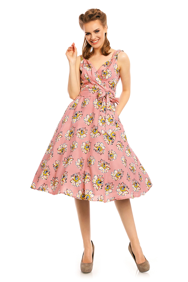 Womens Plus Size Retro Vintage 20933 1950's Party Summer Dress - Pack of 10