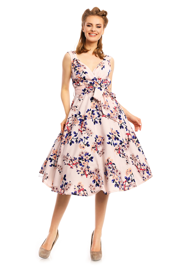 Womens Retro Vintage 20927 1950's Party Summer Dress - Pack of 10