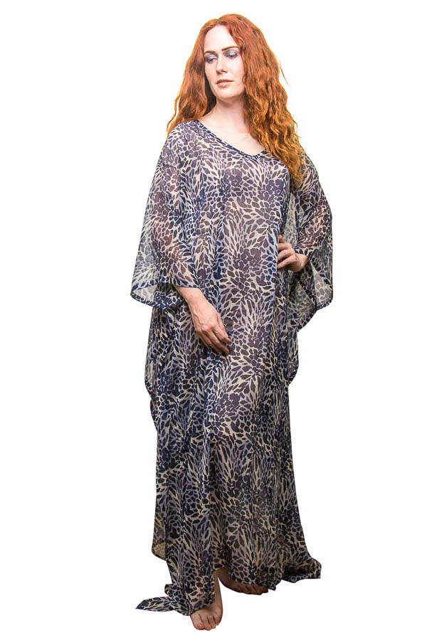 Plus Size Womens ESD-K-101-4 Summer Party Maxi Kaftan/Dress - Pack of 10