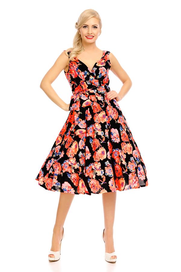 Womens Retro Vintage 20916 1950's Party Summer Dress - Pack of 10