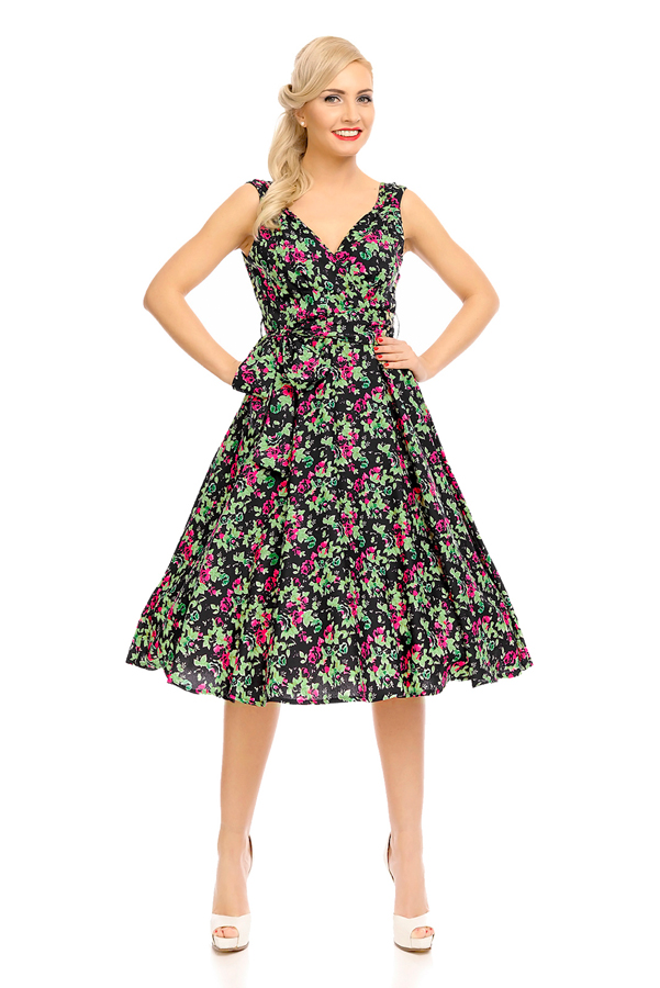 Womens Retro Vintage 20917 1950's Party Summer Dress - Pack of 10
