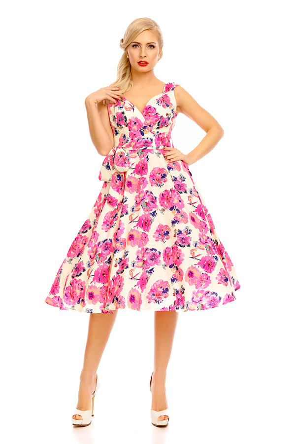 Womens Retro Vintage 20921 1950's Party Summer Dress - Pack of 10 - PRE ORDER