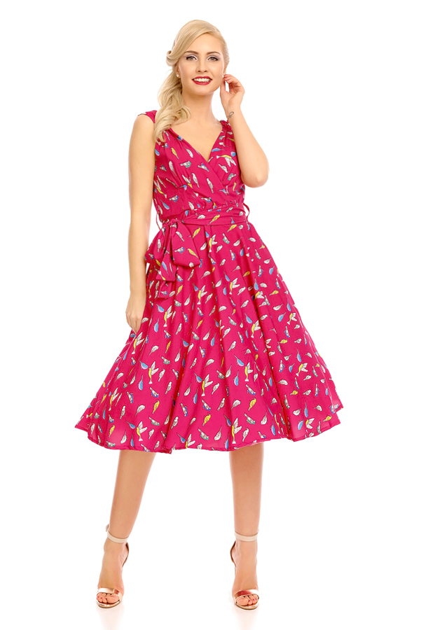 Womens Retro Vintage 20924 1950's Party Summer Dress - Pack of 10