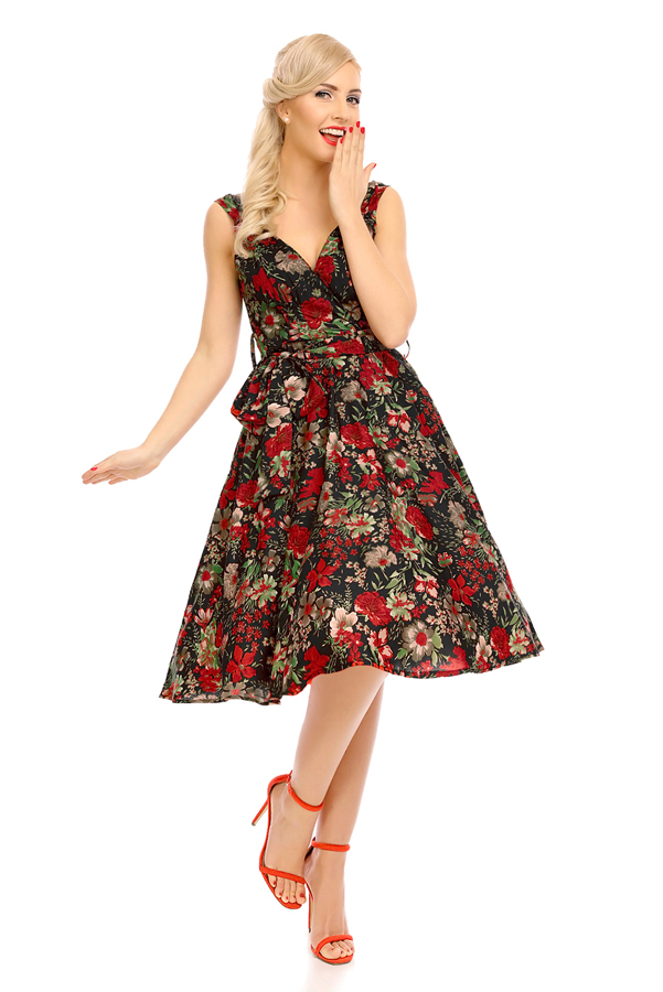 Womens Retro Vintage 20913 1950's Party Summer Dress - Pack of 10