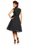 Women's Retro Vintage 1950's 40's Audrey Hepburn Swing Dress In Black - Pack Of 10