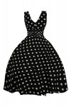 Retro Vintage 1950's Pin Up Swing Polka Dot Dress - Pack Of 10