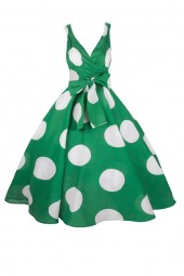 Womens Retro  R-202 5050 Green 1950's Party Summer Dress - Pack Of 10