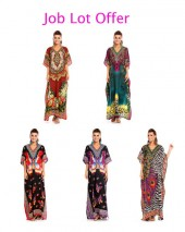 Job Lot Clearance Of  75 Full Length Mixed Maxi Kimono Kaftans