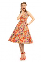 Womens Plus Size Retro Vintage 20935 1950's Party Summer Dress - Pack Of 10