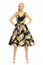 Womens Retro Vintage 20912 1950's Party Summer Dress - Pack Of 10