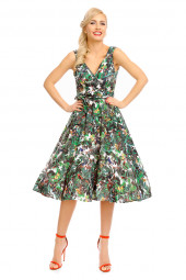 Womens Retro Vintage 20919 1950's Party Summer Dress - Pack Of 10
