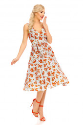 Womens Retro Vintage 20923 1950's Party Summer Dress - Pack Of 10