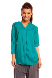 WOMENS 206 TEAL TOP KAFTAN KIMONO TUNIC DRESS PACK OF 10